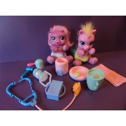 My little Pony, 2 poupées interactives + accessoires